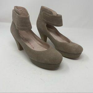 SACHA LONDON Vera Metallic Heels